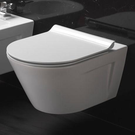 GSI Norm 55 Wall Hung WC & Soft Close Seat