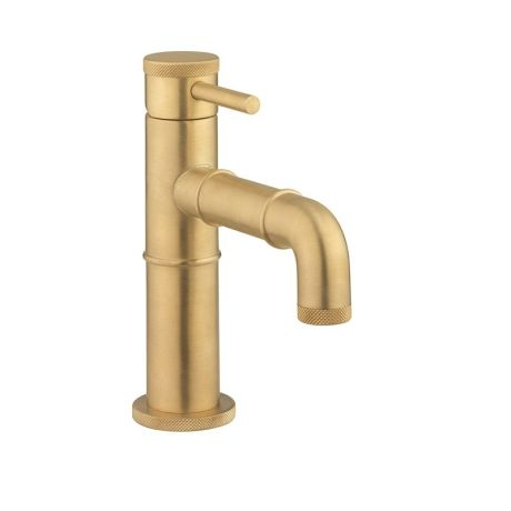Crosswater MPRO Industrial Basin Mono - Unlacquered Brushed Brass