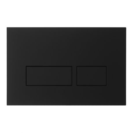 Crosswater MPRO Matt Black Flush Plate