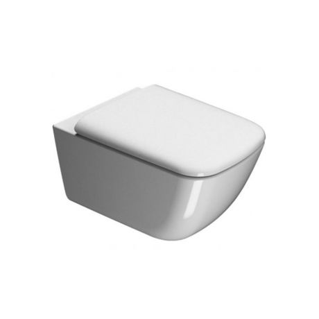GSI Sand 55 Rimless Wall Hung Toilet & Soft Close Seat
