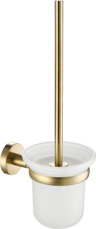 Just Taps VOS Brushed Brass Toilet Brush