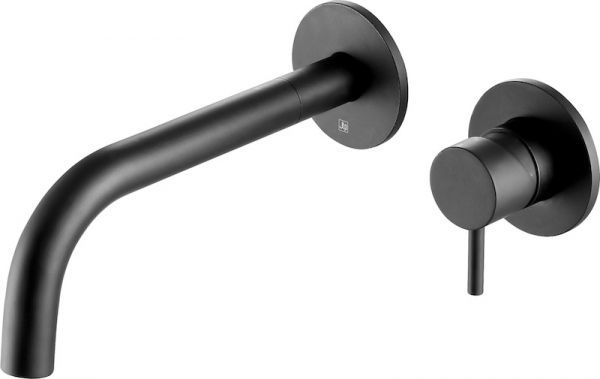 Just Taps VOS Single Lever Wall Mounted Basin Mixer