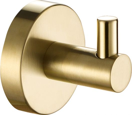 Just Taps VOS Brushed Brass Robe Hook