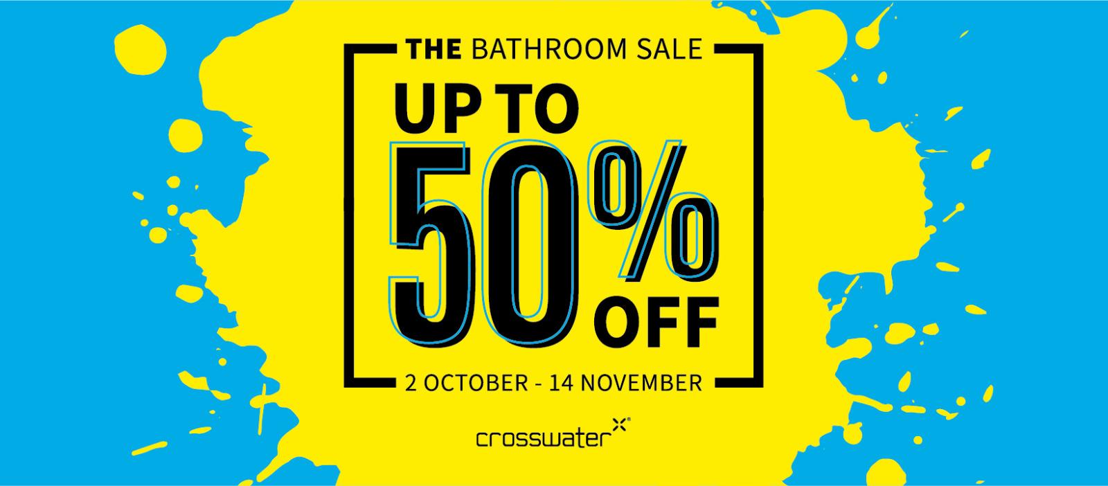 crosswater sale